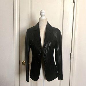 Jackets & Blazers - Vintage 60's Leather Blazer